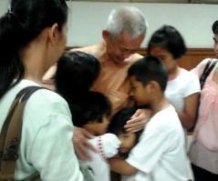 Ampol and grandchildren