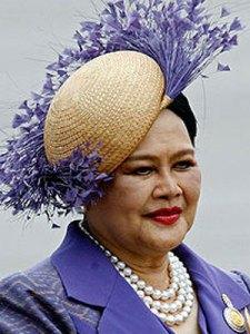 Queens wear hats