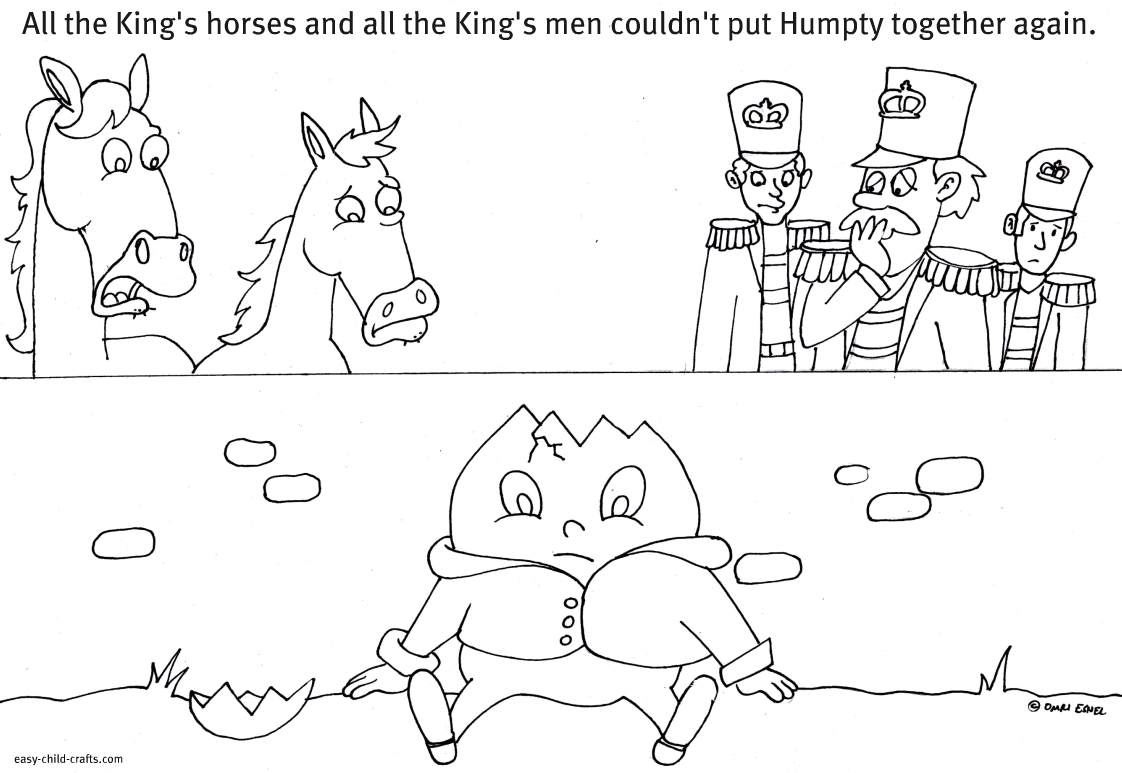 humpty dumpty coloring pages - cres prayuth and the king political prisoners in thailand