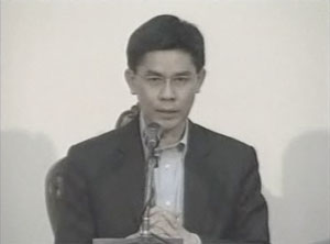 Panitan when the Abhisit government relocated to a military base in 2010