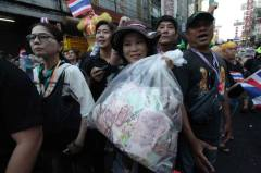 Bags of money for anti-democracy activism