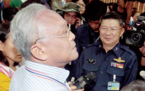 Suthep is loved by the military - Copy