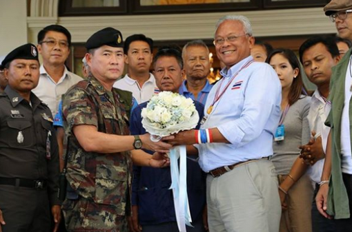 Suthep says thanks