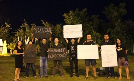 We want democracy