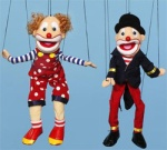 Puppets and clowns