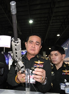 Prayuth gunning for democracy