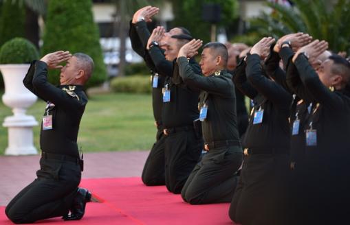 Apirat Kongsompong | Political Prisoners in Thailand