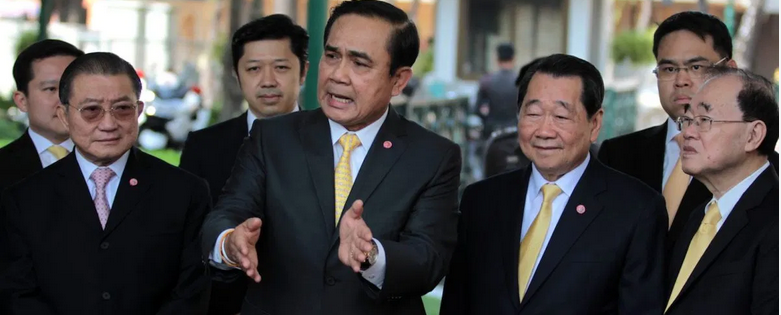 Prayuth and the bosses