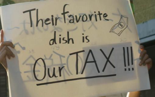 Taxpayers fleeced